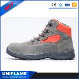 Chaussures de sécurité en cuir de daim en peau de daim à bas prix UfB022