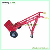 Foldable倉庫の鋼鉄トラックは輸送のためのローラーのカートを手で押す
