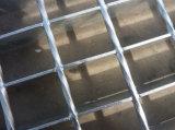 Premere la grata d'acciaio della serratura per la griglia della maglia del passaggio pedonale della scala della piattaforma