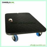Haute qualité 150 kg de charge roue plate-forme en bois solides Auteur