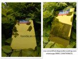 Новая High Gloss Gold конфеты желтого цвета порошковое покрытие
