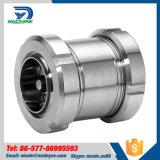 Válvula de retención roscada de acero inoxidable con unión