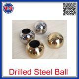 L'oro ha placcato la sfera perforata 3mm dell'acciaio inossidabile 316L con il foro per monili o il braccialetto