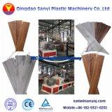 Fiche de marbre de PVC en plastique de la ligne de production Spc Ligne de l'extrudeuse de planches de plancher