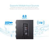 2.1 Digitale LEIDENE van de Afstandsbediening USB van de Spreker houten Bluetooth FM
