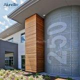 De aluminio de alta calidad precio de muro cortina de vidrio