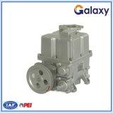 Pompe à palettes pour station d'huile avec distributeur de carburant A/C