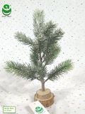 albero di Natale artificiale del PE di 0.3-0.5m per la decorazione - Woodround & neve