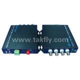 4チャネル1080P Ahd&Cvi&Tvi Video Fiber Transmission