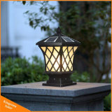 Pilar Solar de decoración de Jardín de césped de la luz solar lámpara de luz para el Ramadán