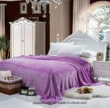 Flanela em relevo cobertor cobertor de lã