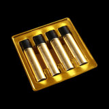 O PVC personalizado Golden Bandeja Blister de cosméticos de alta qualidade