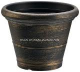 円形のプラスチック植木鉢(KD3202S-KD3203S)