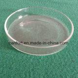 Capsula di Petri di vetro della vetreria per laboratorio, capsula di Petri