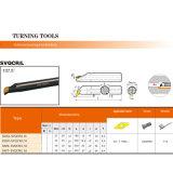 CNC 기계를 위한 선반 무료한 바 홀더 Indexable 도는 공구 Svqcr
