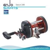 Corps intense de graphite de Saturne/1 roulement/palan de pêche de pêche à la traîne droit de bobine de pêche maritime de traitement