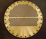 銅のニッケル合金UNS C71520 UNS C72200のUNS C62400の管シートTubeSheetsはサポート版の管の版を迷わせる