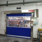 Action rapide en plastique industriel rolling shutter porte en PVC (HF-1118)