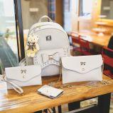 Madame réglée en cuir Packbag (XM0470) de sac d'école de femmes de créateur d'unité centrale