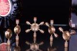 Стороны Fidget игрушка вращателя медь/Staniless сталь/алюминиевый EDC прибора