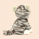 Brinquedo de pelúcia de gato recheado personalizado