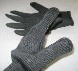 Черная сетка металла вкладыша Hppe Анти--Отрезала работу Glove-2354-R