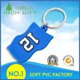 2D/3D personalizado para um/ambo PVC Keychain do lado