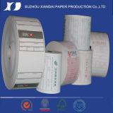 57mmx40mm Caisse enregistreuse géant du rouleau de papier thermique fleurs en papier