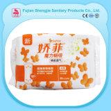Distributeur 100% automatique de serviette hygiénique remplaçable de femmes de coton de bonne qualité