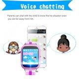 Франтовской вахта для карточки звонока SMS SIM отслежывателя локатора GPS WiFi детей водоустойчивой