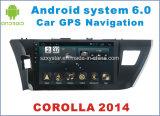 Nouvelle navigation de voiture Ui Android 6.0 pour Toyota Corolla 2014 avec DVD de voiture