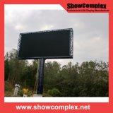 풀 컬러 pH10 옥외 임대료 LED 영상 벽