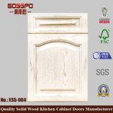 Cabinet de cuisine Porte en bois Prix bon marché (GSP5-015)