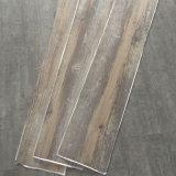 Carrelage auto-adhésif de vinyle de PVC/Lvt avec le collant/colle d'individu vers le bas