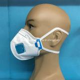 Respirador disponible Ffp2 con el plano vertical con la válvula