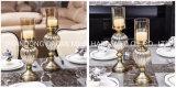 Supporto di candela di prima scelta della decorazione del metallo, supporto