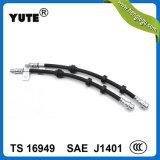 Frein hydraulique de 1/8 pouces professionnel flexible en caoutchouc avec la norme SAE J1401