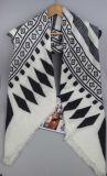 Frauen gestrickter Acrylschal, Halstuch-Schal, Mädchen-Winter-Schal-Form Accssory