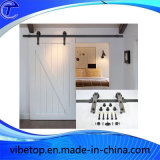 Alta calidad Negro de acero puerta de granero de hardware (BDH-07)