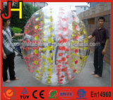 1.8m bunte transparente aufblasbare menschliche Zorb Kugel Belüftung-TPU