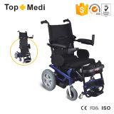 Levarsi in piedi in su la sedia a rotelle comoda di energia elettrica con la cinghia di Legrest per Handicapped