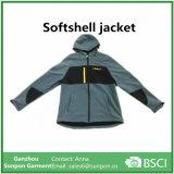 Balck 회색에 있는 고품질 Softshell 재킷