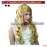 Il partito della novità fornisce l'agente di servizio della Cina del mercato di Yiwu della parrucca di Afro (C3042)