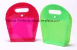De gekleurde Zak van EVA Cosmeitc met Dichte Knoop en Hadle