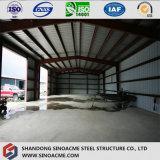 Estrutura de aço pré-fabricados de classe mundial galpão de armazenagem a frio