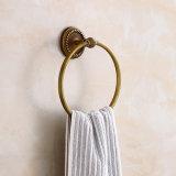 Flg Anneau de serviette de salle de bain antique avec laiton massif