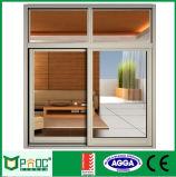 Alluminio Windows scorrevole con la rete di zanzara