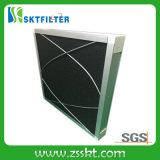 Filtro de ar de alumínio da espuma do carbono do frame