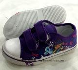 Zapatos de lona escotados del nuevo diseño Niza para los cabritos (FF924-10)