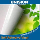 Vinilo adhesivo de la parte posterior gris para la publicidad